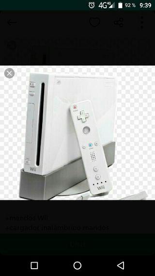 Wii consola REGALO IDEAL REYES. + Regalo juegos