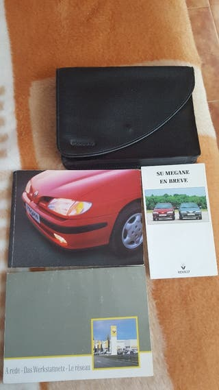 regalo manual Renault megane coche 1996