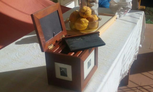 caja PORTAFOTOS