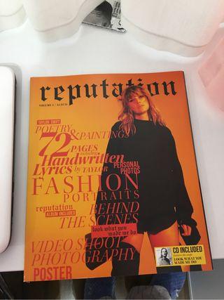 Revista Reputation Taylor Swift