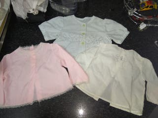 Ropa bebé - camisas manga larga niña
