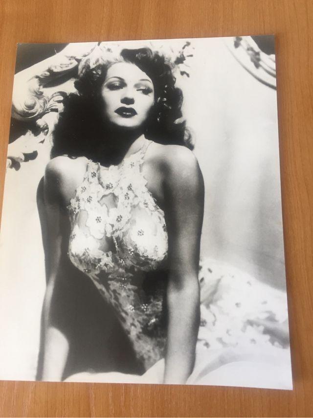 Foto antigua de Rita Hayword