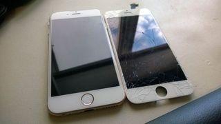 Cambio de pantallas de Iphone