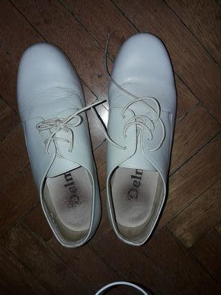 zapatos de comunion de piel
