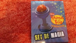 Set de magia de Phineas y Ferb