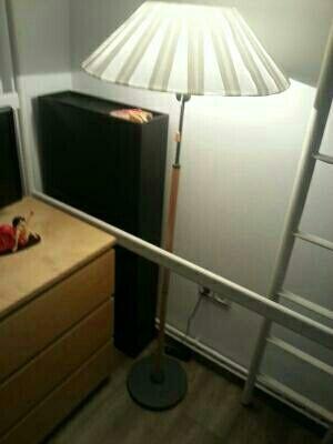 Lámpara De Pie Ikea 2 Pantallas De Segunda Mano Por 15 En Das