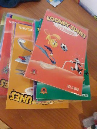 lote de dvd de los looney tines