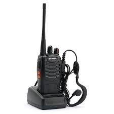 Programación de walkies y emisoras