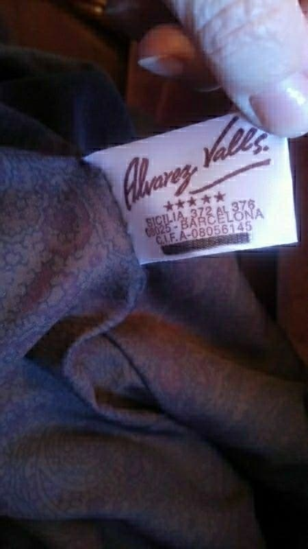 abrigo piel natural de lomos visón. Álvarez Valls