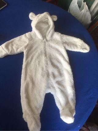 Buzo-abrigo bebé