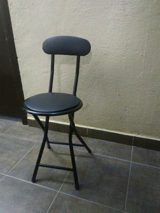 Conjunto de sillas plegables