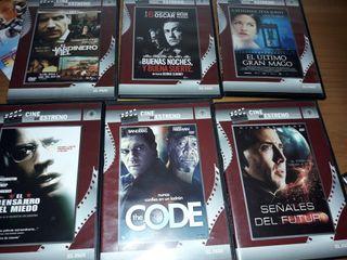 lote de dvd de accion