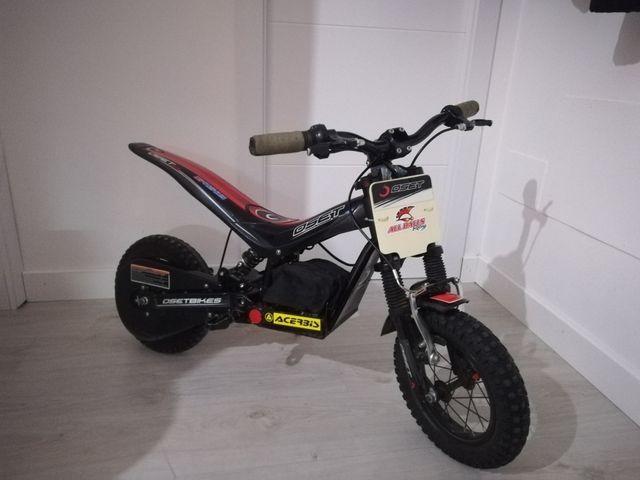oset 12.5 moto infantil eléctrica