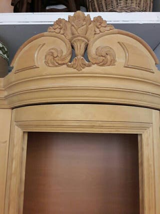 Mueble de madera en crudo de segunda mano por 200 en for Muebles segunda mano logrono
