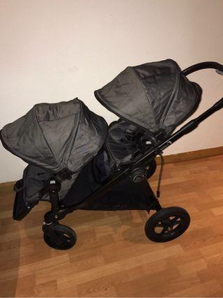 OPORTUNIDAD! Carro gemelar Baby Jogger City Select