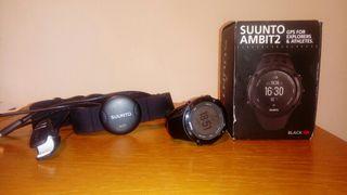 Reloj GPS Suunto Ambit 2 Peak Black HR