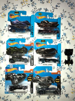 Coches hot wheels batman