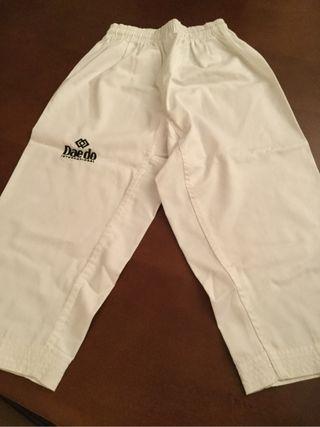 Pantalon artes marciales niño