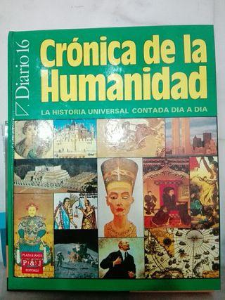 crónica de la humanidad.