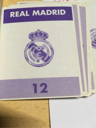 Cromos album Real Madrid