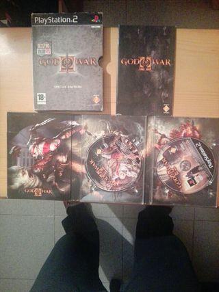 god of war edicion especial playstation 2