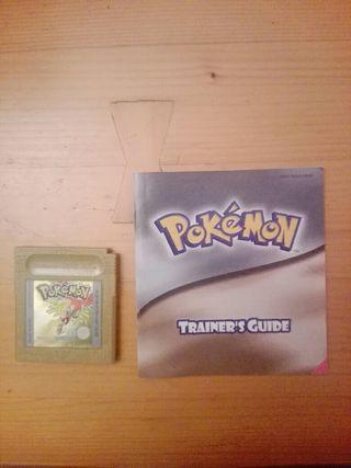 pokemon edicion oro + manual