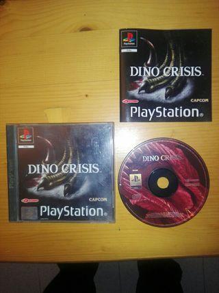 dino crisis playstation 1