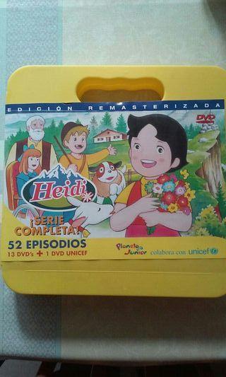 DVD SERIE HEIDI.