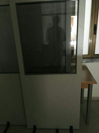 Mampara separadora oficina