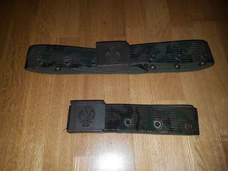 Cinturones militares antiguos