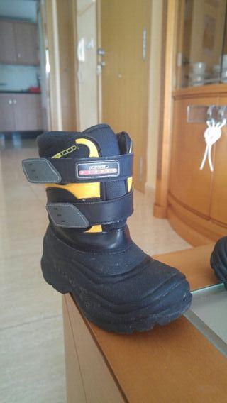 botas de nieve niño