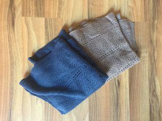 Bufandas de lana fina