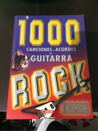 Libro canciones guitarra