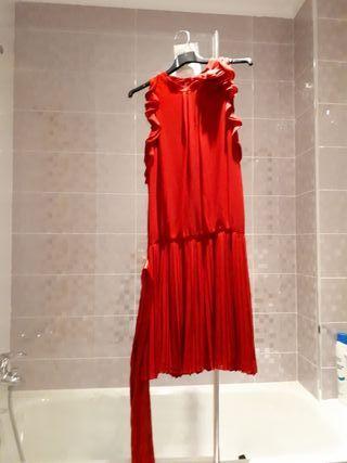 Vestido fiesta rojo tintoretto