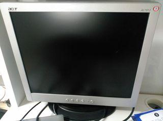 Pantalla ordenador Acer