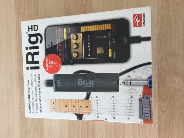 Irig HD Guitar