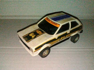 Ford fiesta scalextric blanco