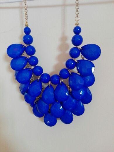 85be3dcf7 Collar azul electrico de segunda mano por 5 € en Onil en WALLAPOP