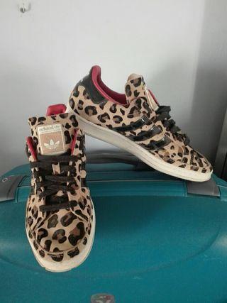 playeras adidas leopardo.