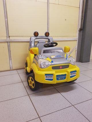 coche de bateria infantil