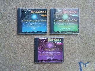 Música 'las mejores baladas de siempre' en cd
