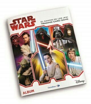 Cambio o vendo cartas Star Wars Carrefour