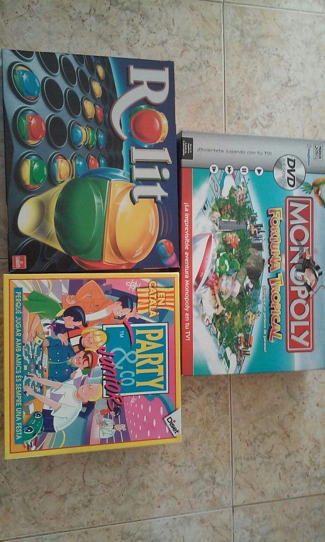 monopoli d television y dos juegos mas