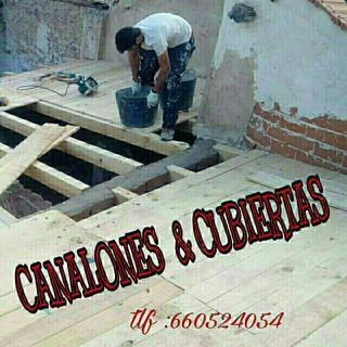anuncio canalones y tejados ( alcala de Henares )