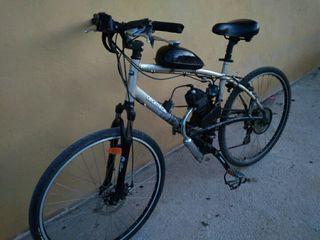 bicicleta talla grande de motor