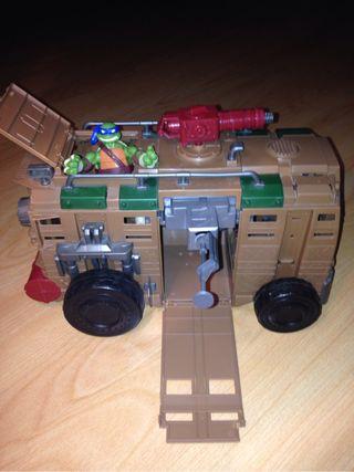 Camion tortugas ninja.