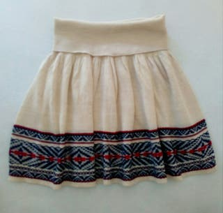 Falda lana