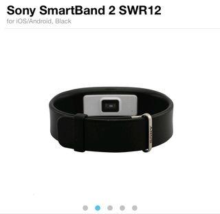 Sony smart band 2 negro