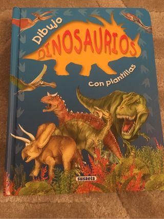 LIBRO DINOSAURIOS PLANTILLAS