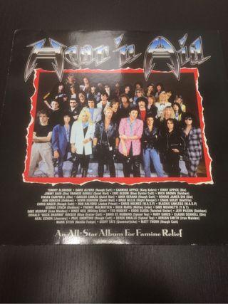 DIO hear 'n aid Lp, Stars, varios artistas 1985